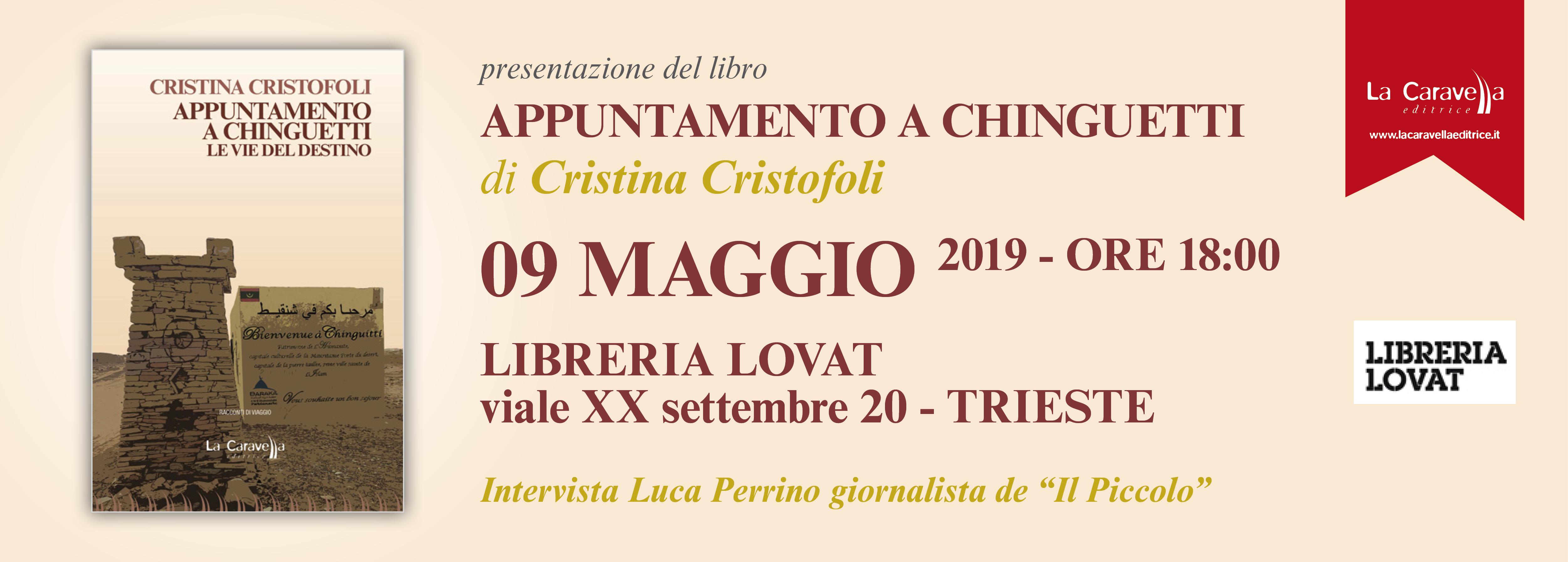 Cristina Cristofoli – 09 Maggio 2019 Trieste