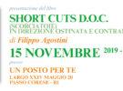 Presentazione del libro SHORT CUTS di Filippo Agostini