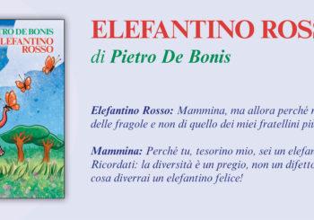 NUOVE USCITE: ELEFANTINO ROSSO di Pietro De Bonis