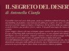 NUOVE USCITE: IL SEGRETO DEL DESERTO di Antonella Cianfa