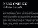NUOVE USCITE: NERO ONIRICO di Andre Massella