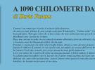 NUOVE USCITE: A 1090 CHILOMETRI DA TE di Ilaria Fasano