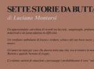 NUOVE USCITE: SETTE STORIE DA BUTTARE di Luciano Montorsi